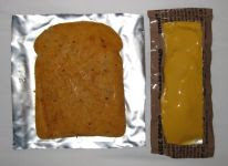 Wheat Snack Bread & Cheese Spread