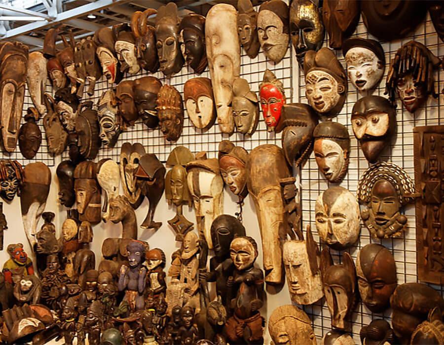 Resultado de imagem para máscaras africanas