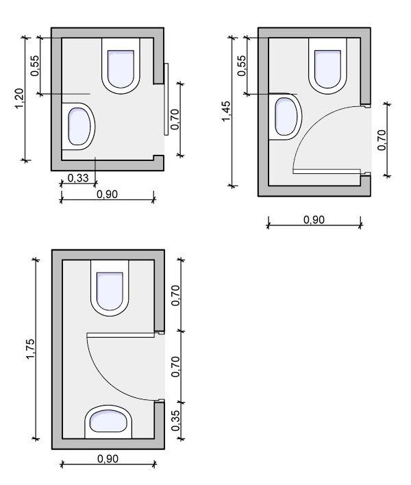 Tiny Bathroom Layout With Bath