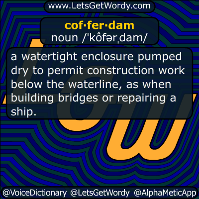 cofferdam 06/09/2018 GFX Definition
