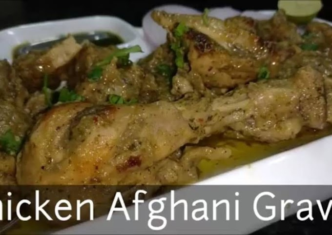 Easiest Way to Make Perfect Chicken Afghani Gravy