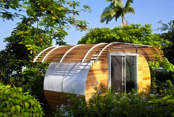 Modern Prefab Tiny House Assembles Easily but is still Pricey
