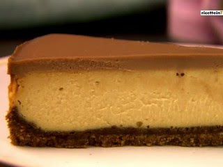 Cheesecake Burro di Arachidi e Cioccolato Nigella