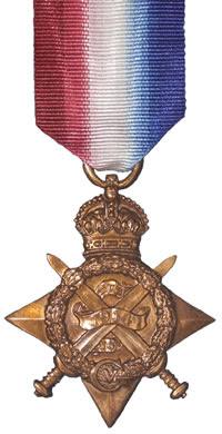 El Frente de la Medalla 1914 Star (Pip)