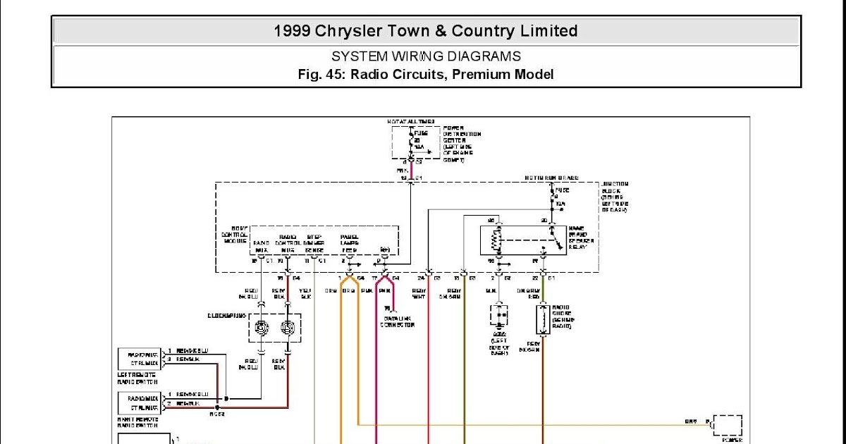 2012 Dodge Charger Speaker Wiring Diagram