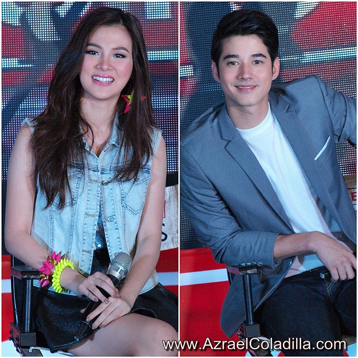 mario maurer and pimchanok relationship test