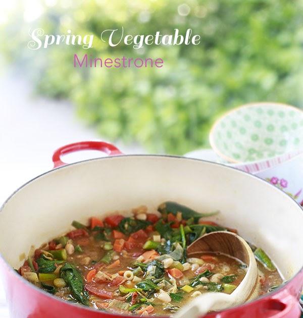 The Yummy Mummy Kitchen Cookbook: Spring Vegetable Minestrone Recipe