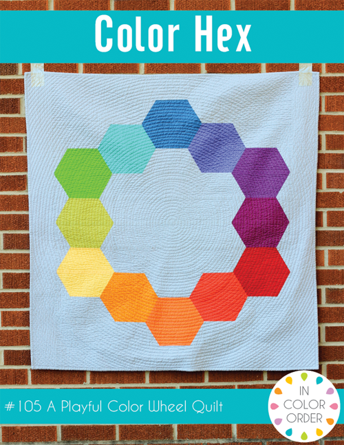 Color Hex Quilt Pattern