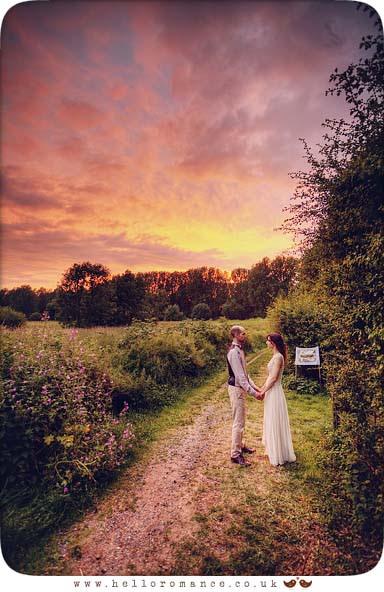 Wedding Sunset Photography Suffolk