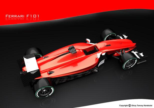 F101 Concept Car by Olcay Tuncay KARABULUT - Tuvie