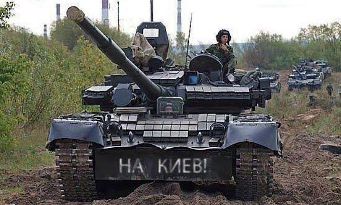 """Русские танки и """"пленных не брать"""" - других вариантов уже нет"""