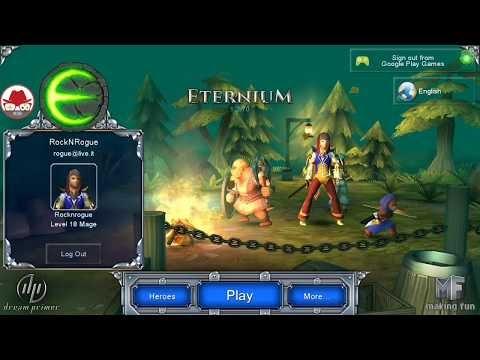 Eternium - Rol oyunu - Mage Kasıyorum