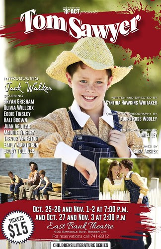 Tom Sawyer: ACT @ East Bank, Oct 25 by trudeau
