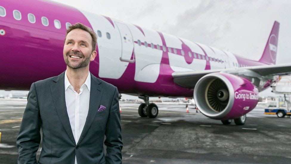 WOW Air founder and CEO Skuli Mogensen