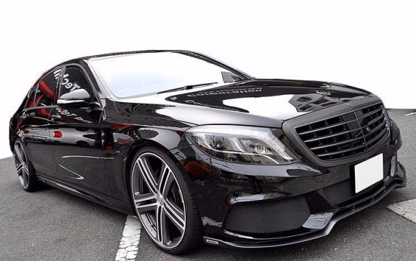 LuxCarTuning.com SPARE PARTS AND ACCESSORIES  Body kit Brabus Business 800 for Mercedes Benz S