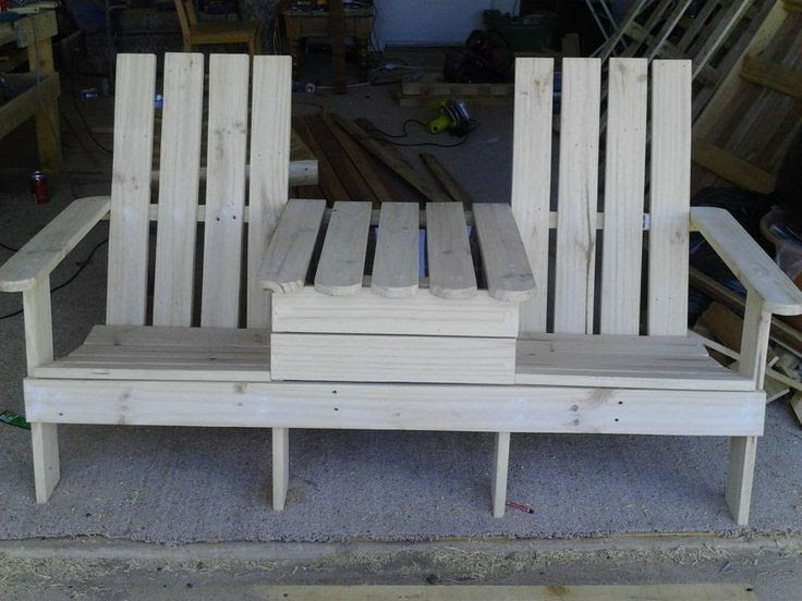 twin adirondack chair plans. Adirondack Jack And Jill Chair 1001 Pallets Made From Includes Twin Plans
