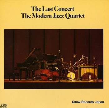 MODERN JAZZ QUARTET, THE last concert, the