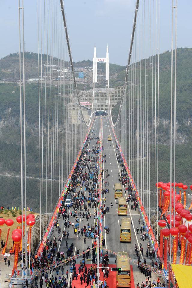 Η πιο ψηλή γέφυρα του κόσμου