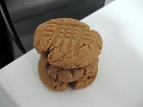 Peanut Butter & Honey Cookies