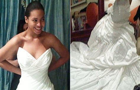 Beyoncé's Wedding Dress: Finally Revealed!   InStyle.com