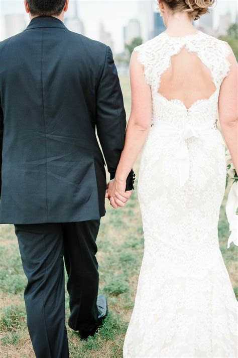 Charming Bride Sports a Unique Wedding Dress at Liberty