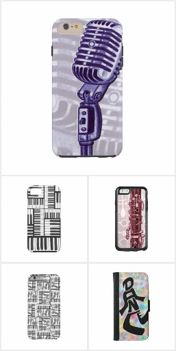 Music Themed iphone Cases