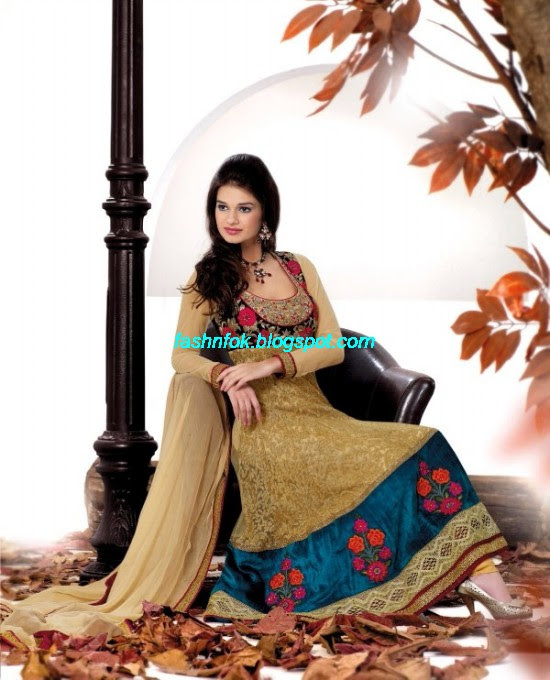 Anarkali-Churidar-Festival-Frocks-Fancy-Dress-Designs-New-Fashionable-Suits-Collection-2013-2