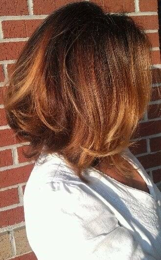 Hair Styles Collection Shiny Wavy Short Brunette