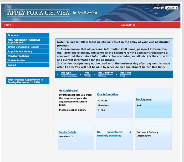 How To Apply For A Us Visa From Riyadh The Pink Tarha