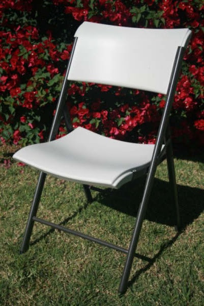 A frame folding chair, image from wikimedia