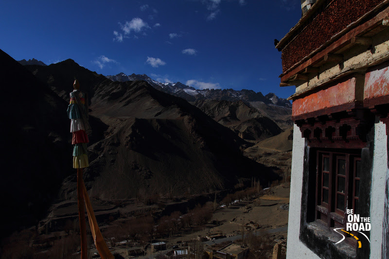 Lamayuru town from on top of the Lamayuru Monastery