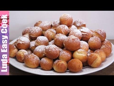 пончики на скорую руку рецепты