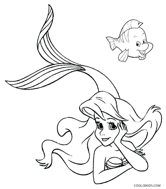 Ariel And Eric Coloring Pages at GetColorings.com | Free ...