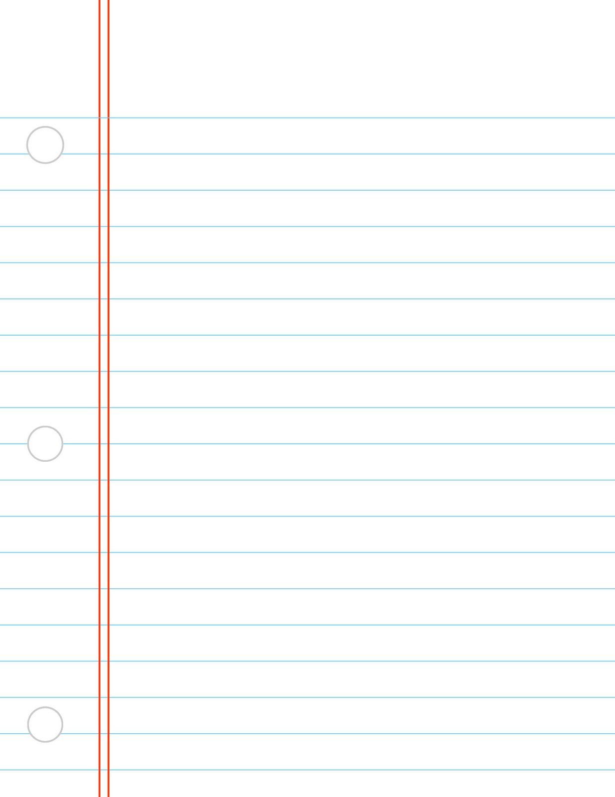 printable lined writing paper template | Education | Pinterest ...