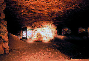 in the abandoned stone mines under Paris. Call...