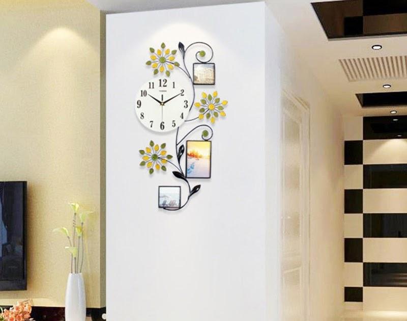 8d713b401eb Comprar Design Moderno Relógio De Parede Flor Grande 3D Led Digital Com  Photo Frame Cozinha Quarto Casa Decoração Fazenda Baratas Online Preço