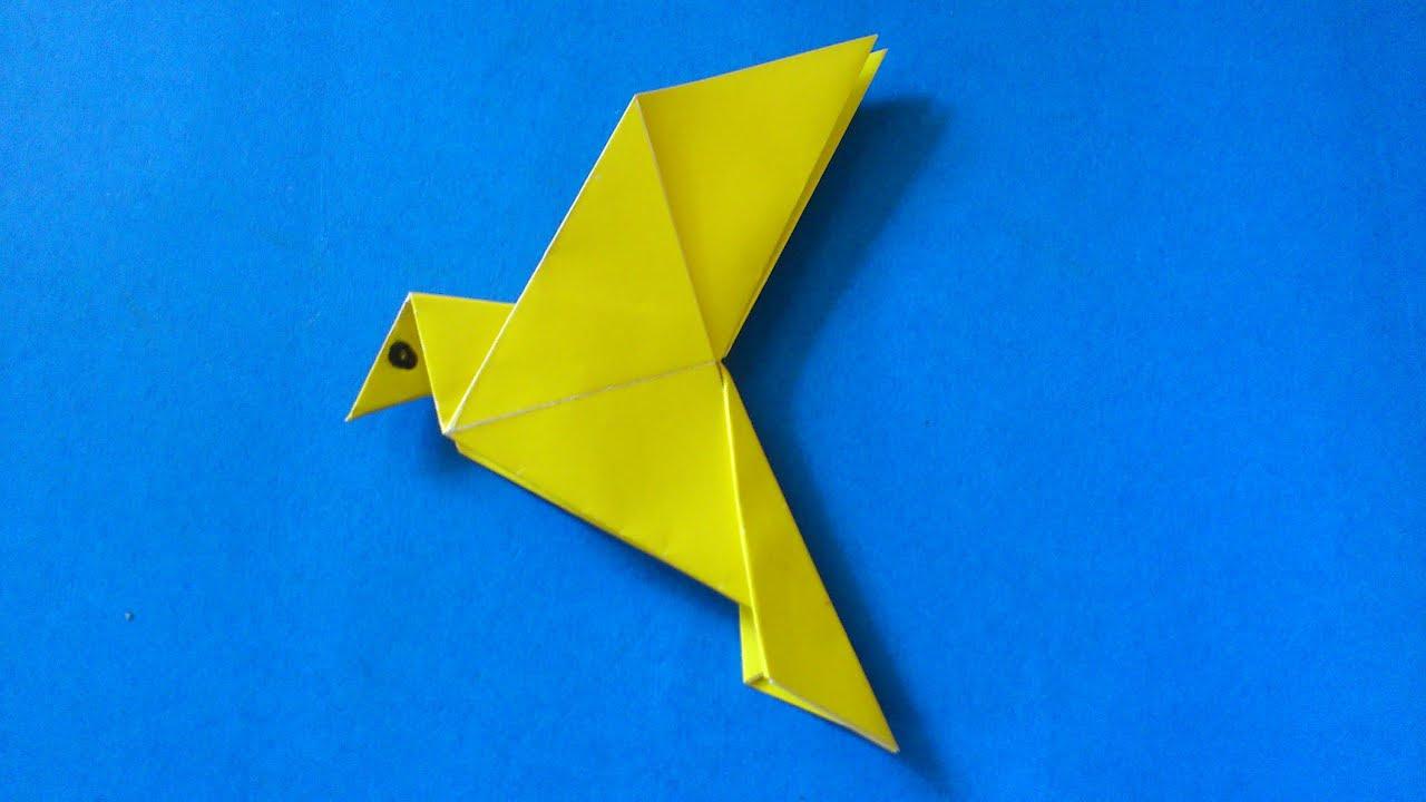 Cara Membuat Origami Burung Merpati Sederhana Origami