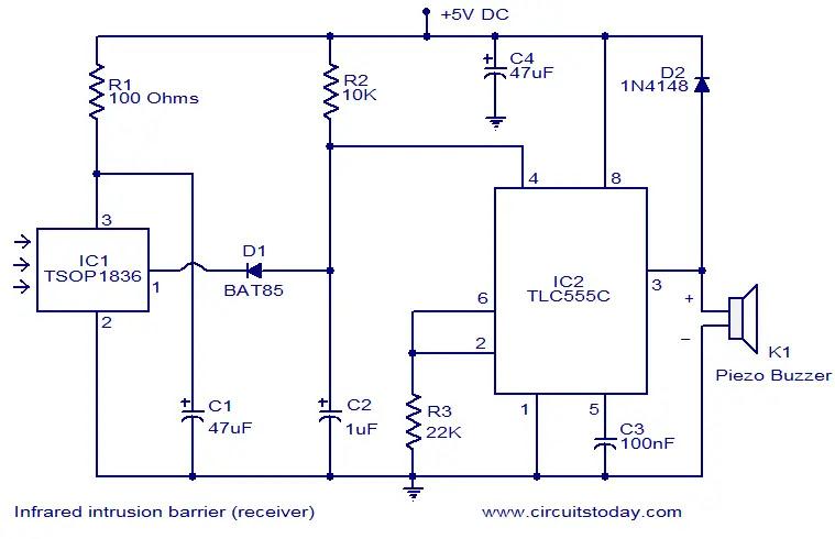 infrared-intrusion-barrier-receiver