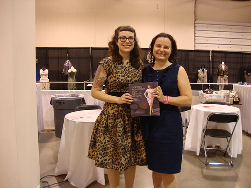 me with Gertie and her book