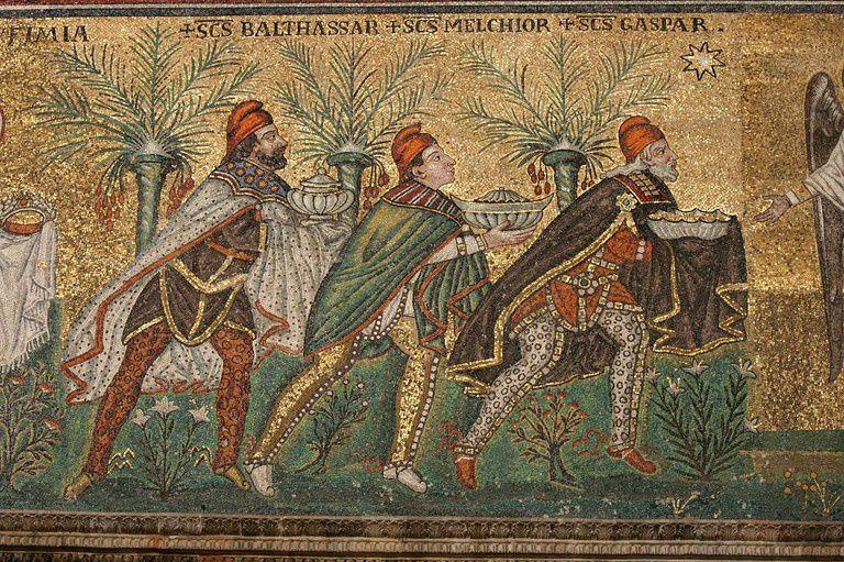 Ve siècle - Mosaïque - Basilique Saint-Apollinaire-le-neuf, Ravenne