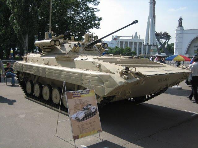 Argelia para desplegar 304 ruso BMP 2M equipado con módulo de combate Berezhok 640 001