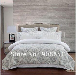 100% cotton Caribbean coast Bedspreads Coverlets 4PCs bedding sets ...