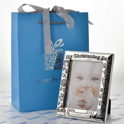 Baby Christening Photo Frame, Personalised Photo Frame