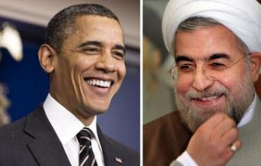 US President Barack Obama and Iran's President Hassan Rouhani.