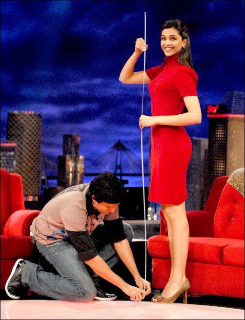 Bollywood Zone: Farhan gets intimate, measures Deepika's ...