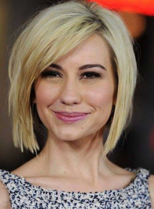 10 Bob Hairstyles For Fine Hair Short Hairstyles 2016 2017 Most