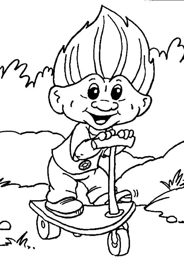 malvorlagen elfen trolle
