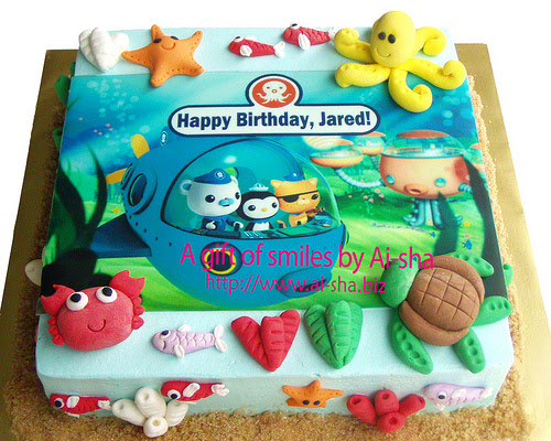Birthday Cake Edible Image Octonauts