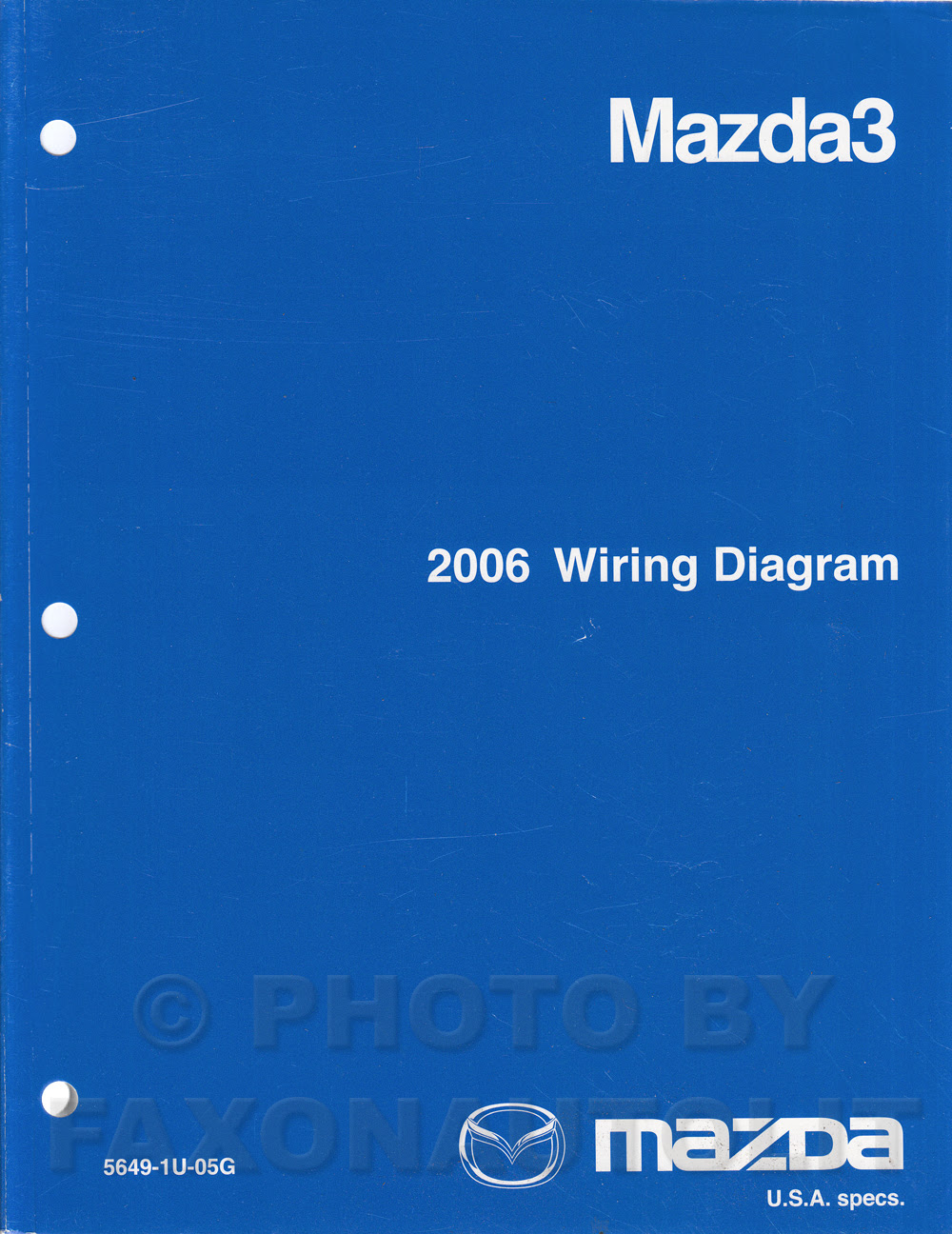 A490 2006 Mazda 3 Stereo Speaker Wiring Diagram Wiring Library