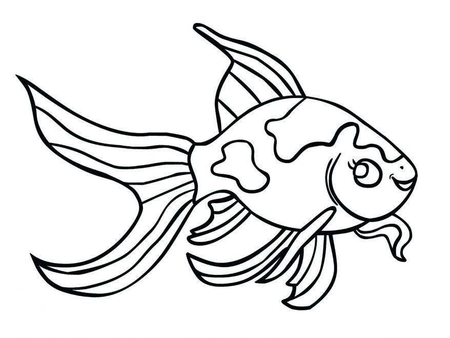 Koi Fish Coloring Page Clipart | Free download on ClipArtMag